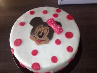 minnie torta, dječja torta