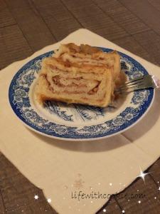 jednostavan recept za štrudlu od jabuke, jabuča baklava