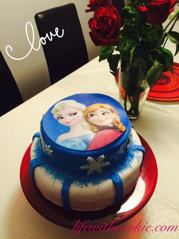 frozen torta, torta na kat