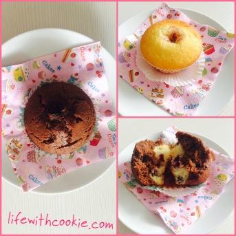 muffini sa višnjama, jednostavni kolači