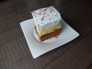 češki kolač, jednostavni kolač, šaum, krema od jaja