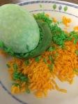 šaranje jaja, farbanje jaja, jaja s gumicom, izrada jaja s gumicom, uskršnja jaja