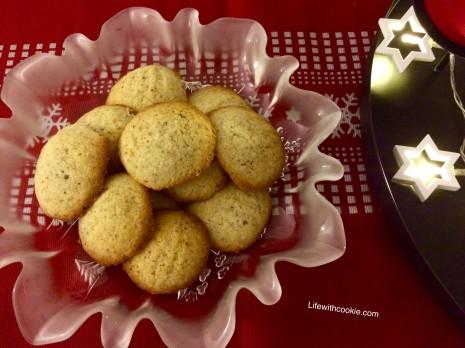 lješnjak kolačići, božićni kolačići