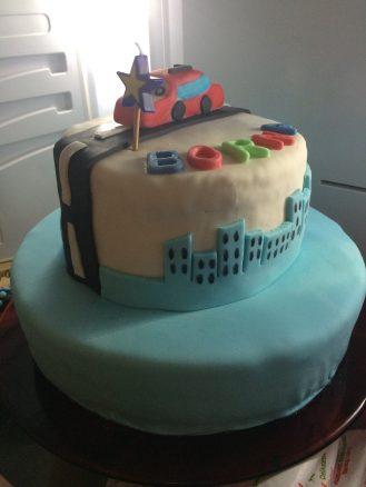 rođendanska torta s ticino masom