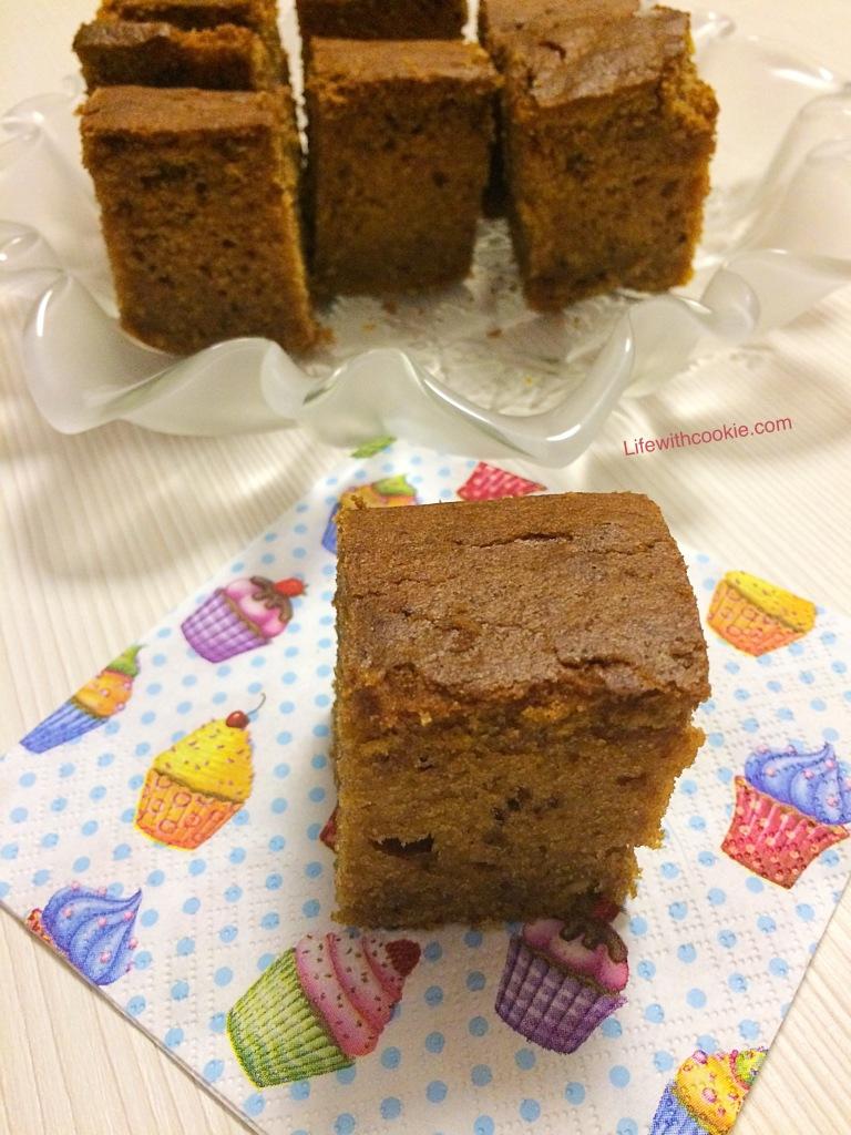 jednostavni kolač, kolač od bundeve, bundeva