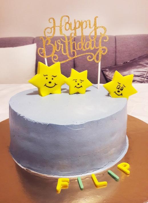 jednostavna rođendanska torta