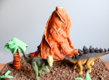torta, dinosauri