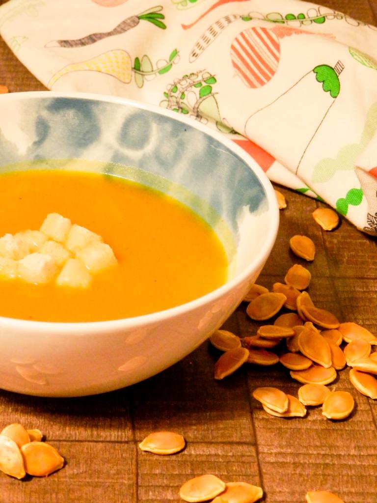 krem juha, priprema bundeve, bundeva, buča,