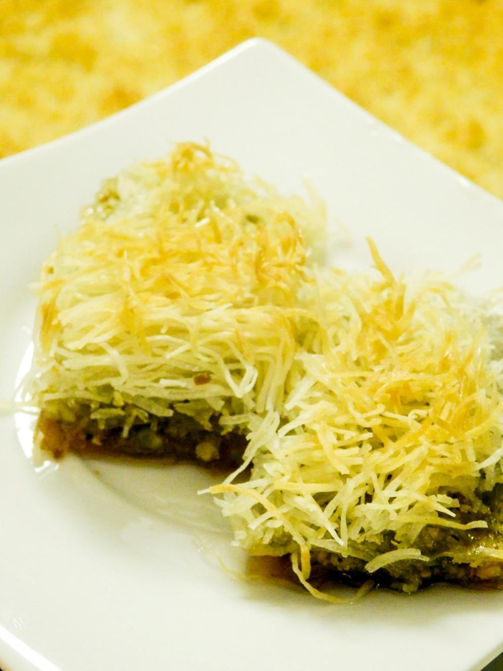 pistacio,baklava,kadaif