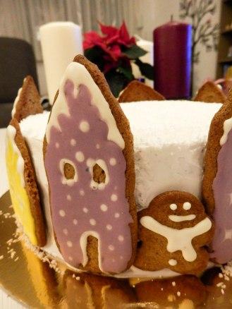 Božićna torta,ukrasi