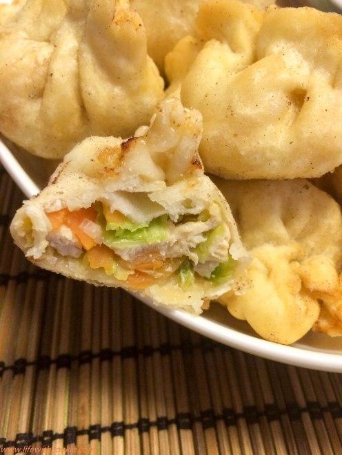 dumplings pećeni