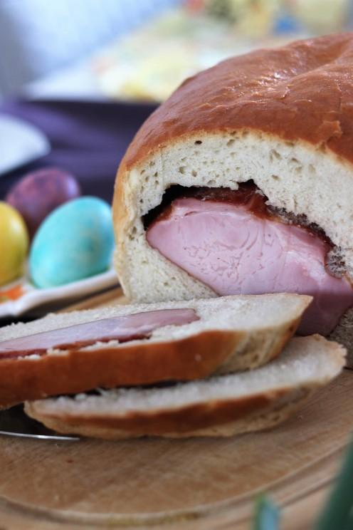 šunka u kruhu