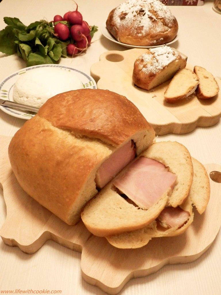 Uskršnja šunka u kruhu