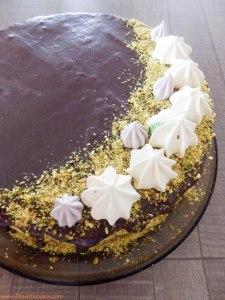 pistacije,čoko torta