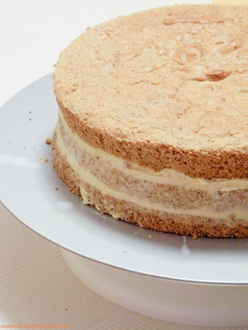 torta od oraha i vanilin kreme