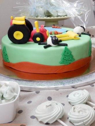 rođendanska torta traktor tom