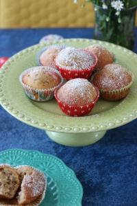 muffini, banana i cimet